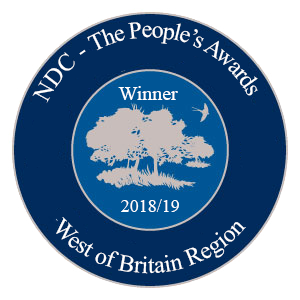 West of Britain Region Winner Award logo