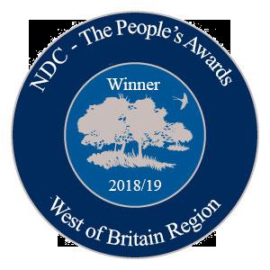 West of Britain Region Winner award logo